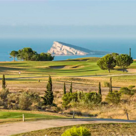 golf benidorm - Appartement d'exception avec vue spectaculaire sur la mer